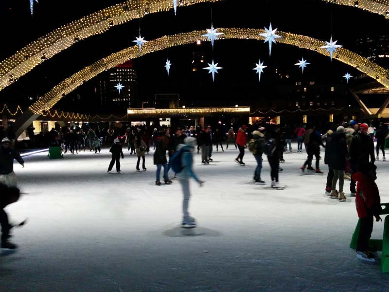 Where to view Toronto holiday lights