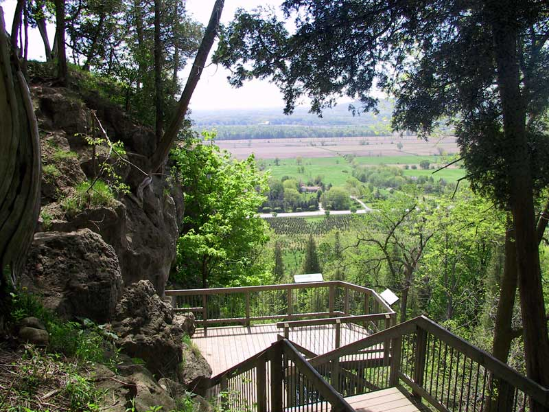 Staircase at Rattlesnake Point