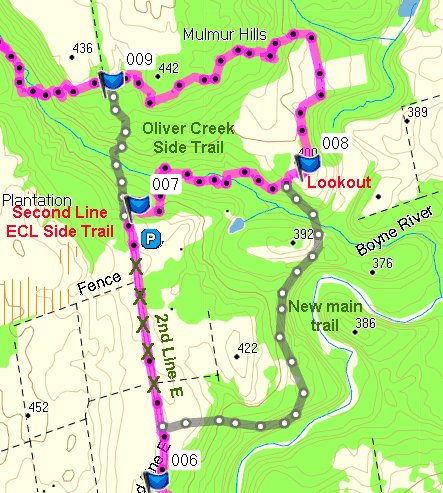 L38 L39 Trail Changes
