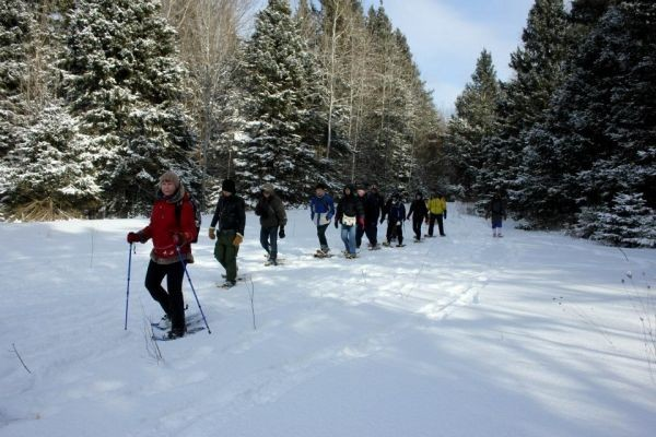 Book your snowshoeing day TRIP by Sat, Feb 18