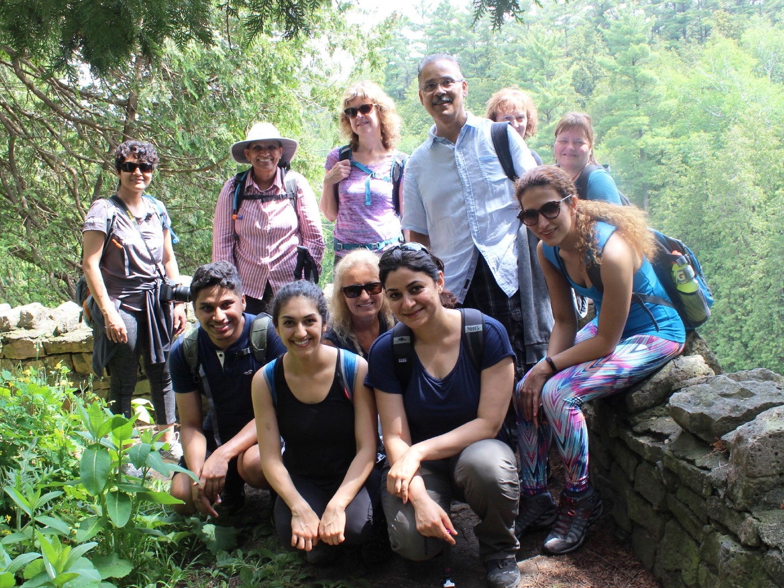 TorontoHiking #Elora Gorge hiking photos: Sat, June 17 #Parkbus