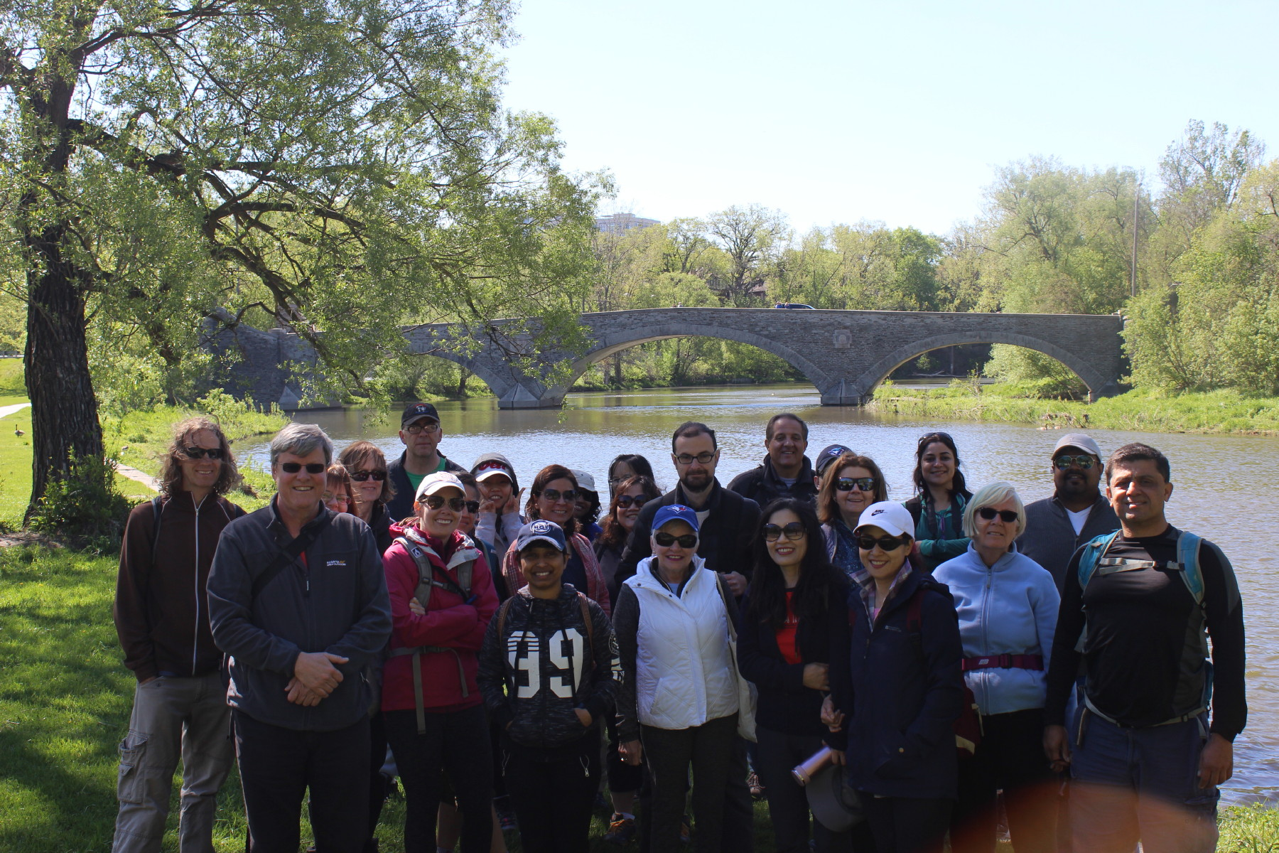 TorontoHiking #HumberRiver hike photos: Sat, May 20