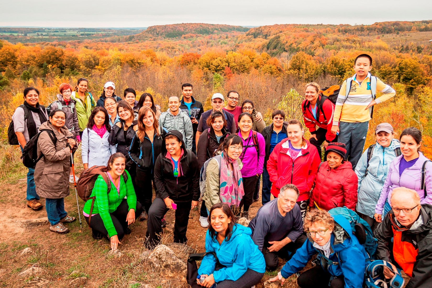 Book your hiking day TRIP to scenic Rattlesnake Point by Friday, Oct 20