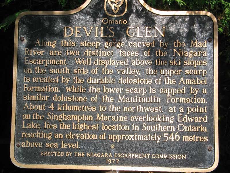 About Devil's Glen