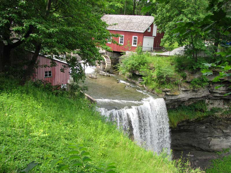 DeCew Falls at Morningstar Mill